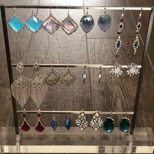 Kendra Scott Earrings Earring Collection Lot Set